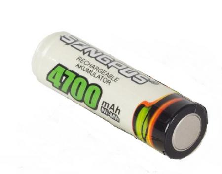 AA 4700 mAh akumulators
