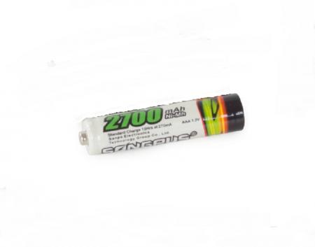 AAA 2700 mAh akumulators