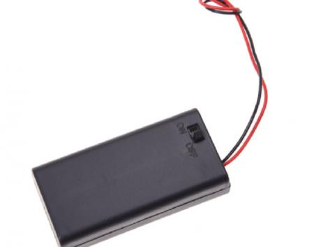 AA bateriju bloks