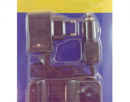 18650 Akumulatoru lādēšanas komplekts