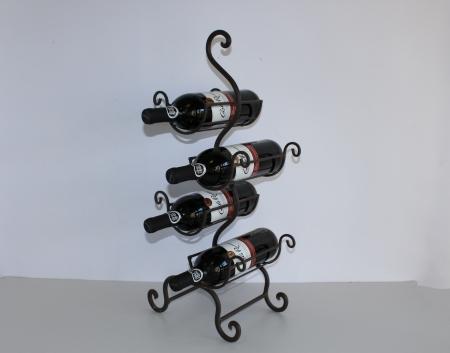 Vīna pudeļu statīvs