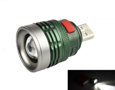 USB lukturis