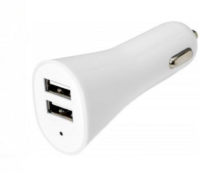 Dubultais USB lādētājs